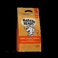 """BOWL LICKIN' CHICKEN suņiem ar jūtīgu gremošanas sistēmu ar vistu un rīsiem """"Līdz pēdējam graudiņam"""""""