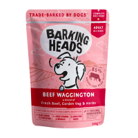 Beef Waggington Pouch 300g  Ar Liellopa gaļu un dārzeņiem