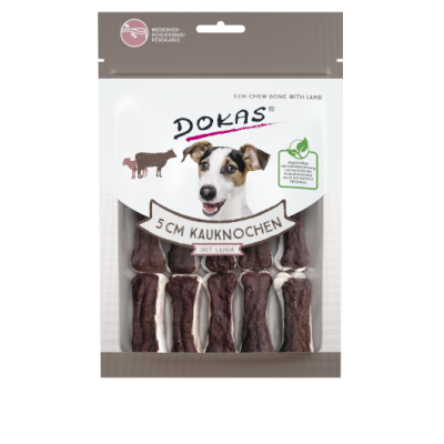 200878 DOKAS 5 cm chew bone with lamb 12pcs