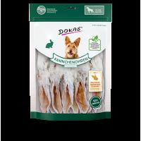 202735 DOKAS Dried rabbit ears with fur long 180g