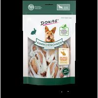 203459 DOKAS Dried rabbit ears with fur 100g