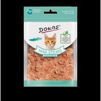 204654 DOKAS  Salmon & Cod mini steaks 25g (Cat)